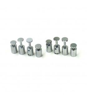 Signfix mini Deckel 1/17 mm Glanzchrom