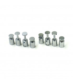 Signfix mini Deckel 2/11 mm Glanzchrom