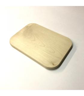 Schneidebrett rechteckig, 250 x 180 x 15 mm, Ahorn