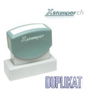 Xstamper DUPLIKAT, blau