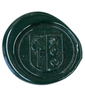 Siegellack klassisch, dunkelgrün