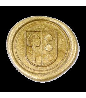 Siegellack klassisch, metallic gold