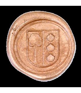 Siegellack klassisch, metallic kupfer