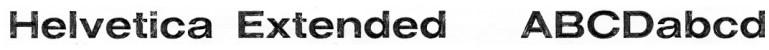 Helvetica Extended