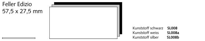 SL008 Feller Edizio, Kunststoff schwarz