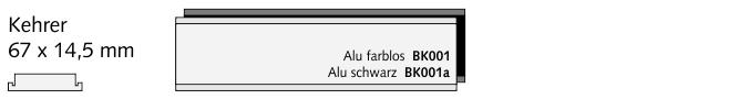 BK001 Kehrer, Alu farblos