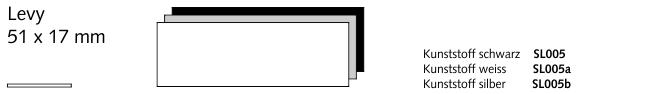 SL005b Levy, Kunststoff silber