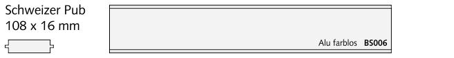 BS008 Stebler, Alu farblos