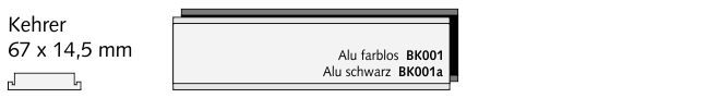 BK001a Kehrer, Alu schwarz