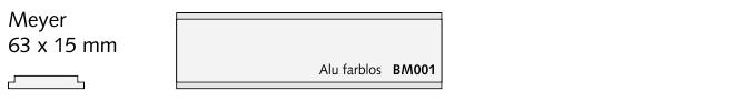 BM001 Meyer, Alu farblos