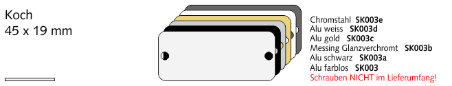 SK003c Koch, Alu gold