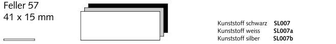SL007 Feller 57, Kunststoff schwarz