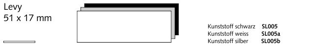 SL005 Levy, Kunststoff schwarz