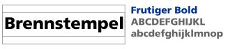 Frutiger Bold