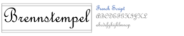 French Script