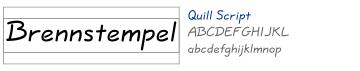 Quill Script